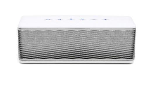 Enceinte Bluetooth Riva S Blanc et Argent