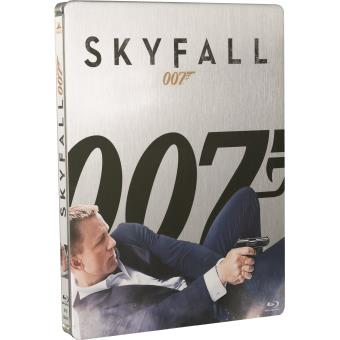 james bond skyfall combo blu ray dvd edition collector steelbook coffret dvd blu ray. Black Bedroom Furniture Sets. Home Design Ideas