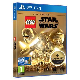 lego star wars le r veil de la force deluxe edition ps4 sur playstation 4 jeux vid o. Black Bedroom Furniture Sets. Home Design Ideas