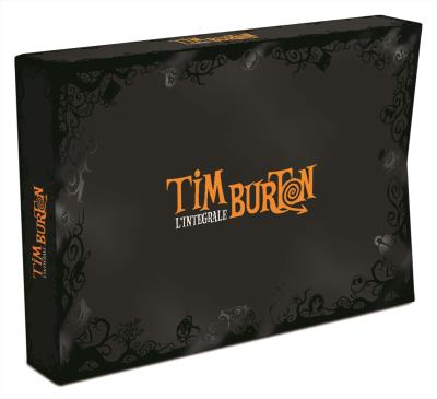 Coffret Tim Burton 17 films DVD