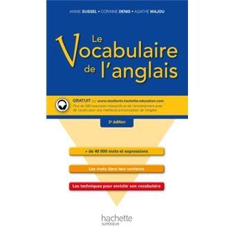 le vocabulaire de l 39 anglais livre cd collectif achat livre achat prix fnac. Black Bedroom Furniture Sets. Home Design Ideas