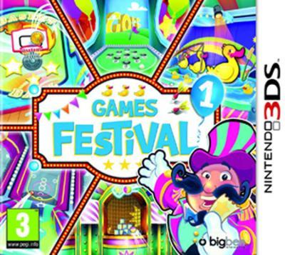 Games Festival Volume 1 Nintendo 3DS - Nintendo 3DS