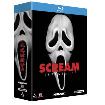 Scream - L'intégrale 4 Films - Blu-Ray