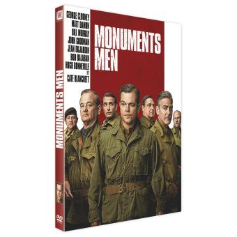 monuments men dvd dvd zone 2 george clooney george clooney matt damon. Black Bedroom Furniture Sets. Home Design Ideas