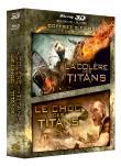 Le Choc des Titans + La colère des Titans (Blu-ray 3D) - Combo Blu-ray 3D + Blu-ray + Copie dig... (Blu-Ray)