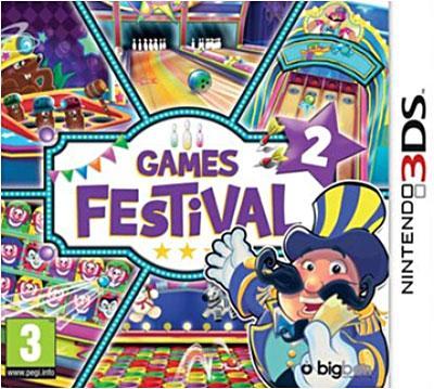 Games Festival Vol 2 3DS - Nintendo 3DS