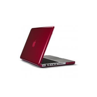 Coque Speck SeeThru pour MacBook Pro  Framboise a