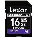 Lexar Full-HD Video Memory Card - carte mémoire flash - 16 Go - SDHC
