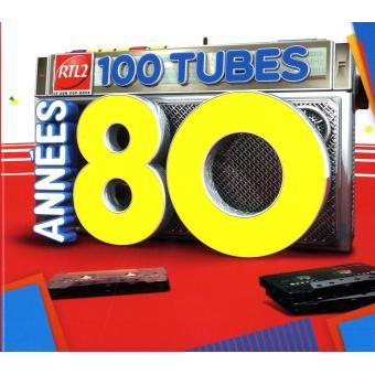 rtl2 100 tubes ann es 80 2013 compilation cd album achat prix fnac. Black Bedroom Furniture Sets. Home Design Ideas