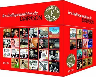 Les indispensables de diapason Coffret 40 CD