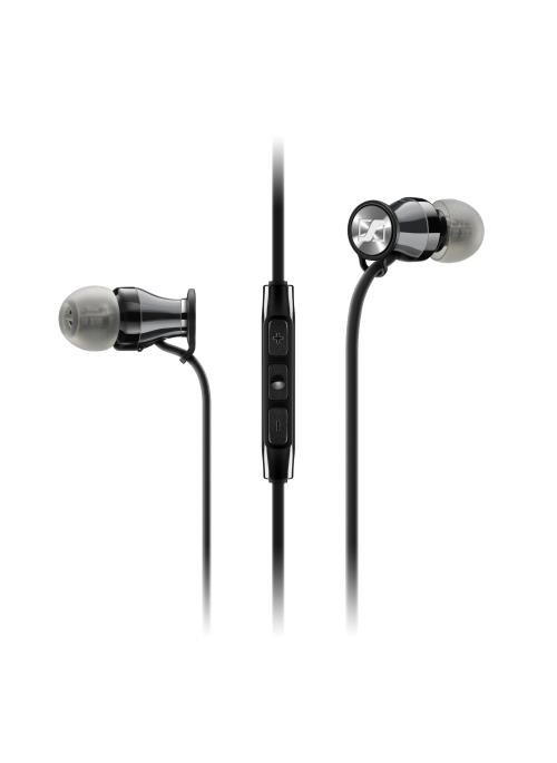 Ecouteurs Sennheiser Momentum In-Ear i Black Chrome
