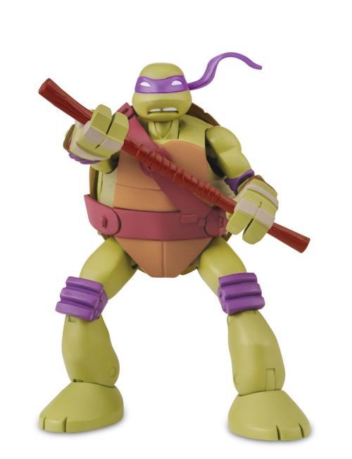 La figurine se transforme en petite tortue