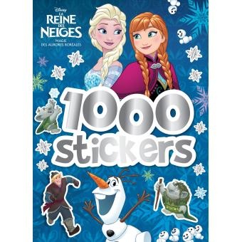 frozen la reine des neiges 1000 stickers collectif. Black Bedroom Furniture Sets. Home Design Ideas