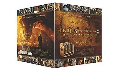 Coffret Middle Earth Extended Edition Premium 6 films Blu-ray