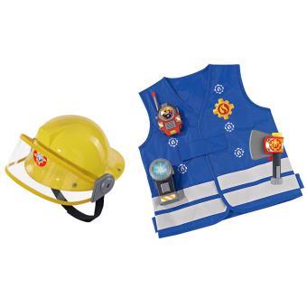 d guisement kit pompier casque sam le pompier smoby 3 ans et plus d guisement enfant achat. Black Bedroom Furniture Sets. Home Design Ideas