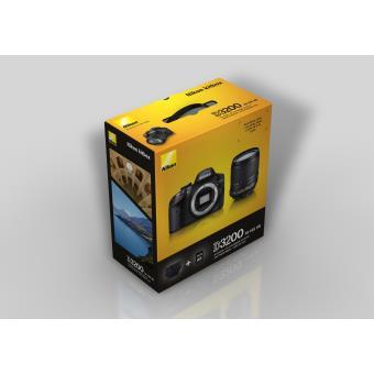 Pack Nikon Reflex D Noir AF S DX  mm f VR ED serie G Fourre tout Carte SDHC Go a w