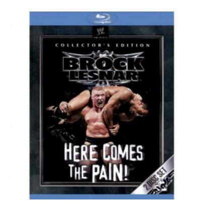 Brock Lesnar Here comes the Pain ! WWE Blu-ray