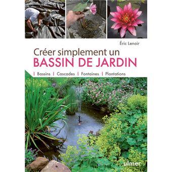 livre créer simplement un bassin de jardin