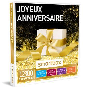 coffret cadeau smartbox joyeux anniversaire coffrets cadeaux acheter sur. Black Bedroom Furniture Sets. Home Design Ideas