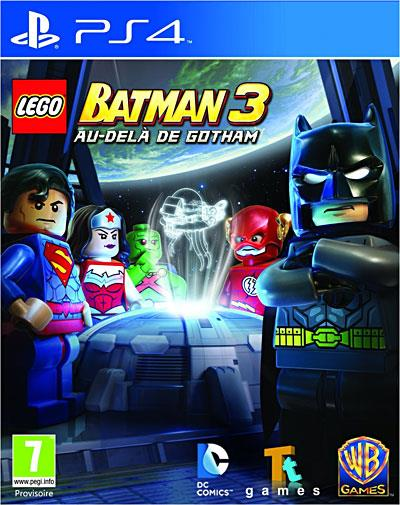 Lego Batman 3 Au delà de Gotham PS4 - PlayStation 4
