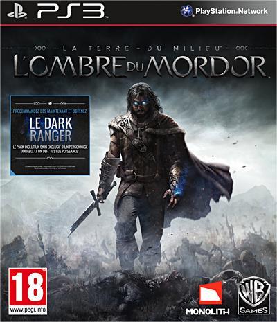 La Terre du Milieu L'ombre du Mordor PS3 - PlayStation 3