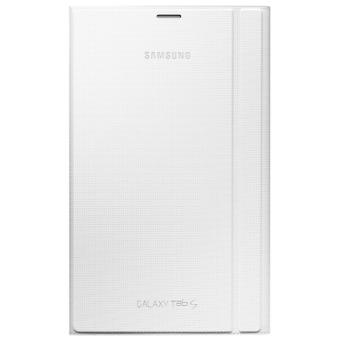 """Etui Support Samsung Book Cover pour Galaxy Tab S 8,4"""", Blanc Neige"""