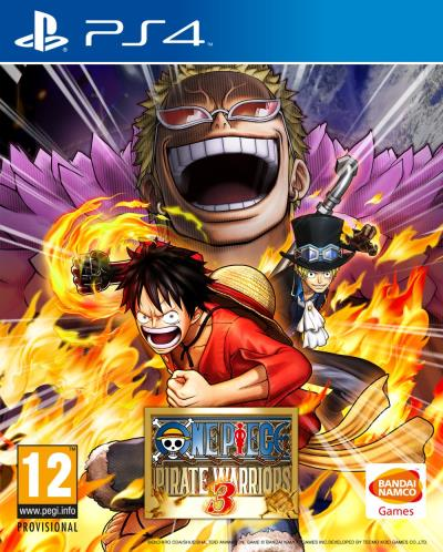 One Piece Pirates Warriors 3 PS4 - PlayStation 4