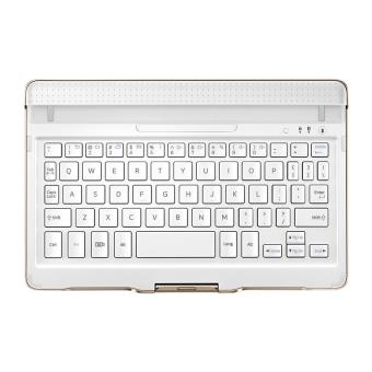 clavier samsung book cover pour galaxy tab s 8 4 blanc. Black Bedroom Furniture Sets. Home Design Ideas