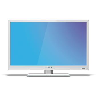 tv thomson 28hz4233w blanc tv lcd 22 29 achat prix fnac. Black Bedroom Furniture Sets. Home Design Ideas