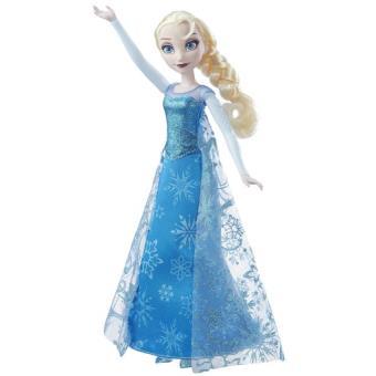 poupe elsa chanteuse frozen la reine des neiges disney 30cm