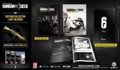 Rainbow Six Siege Edition Collector PS4 - PlayStation 4