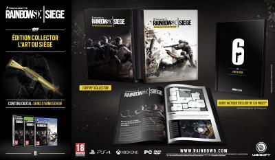 Rainbow Six Siege Edition Collector Xbox One - Xbox One