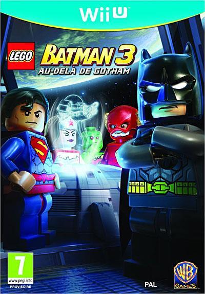 Lego Batman 3 Au del� de Gotham Wii U - Nintendo Wii U