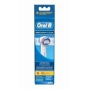 Lot de 8 brossettes de rechange oral b precision clean - Brossettes oral b precision clean ...