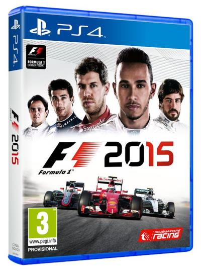 F1 2015 PS4 - PlayStation 4