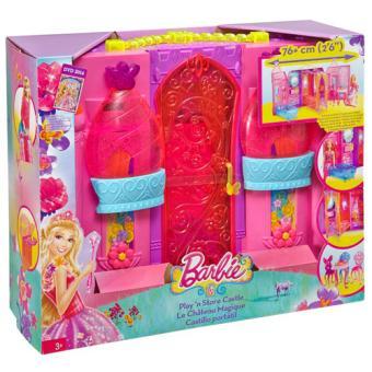le chateau magique de barbie