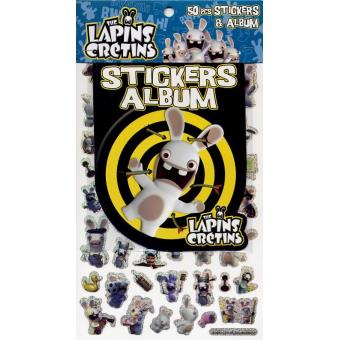 the lapins cr tins tome 1 album avec 50 stickers collectif broch achat livre achat. Black Bedroom Furniture Sets. Home Design Ideas
