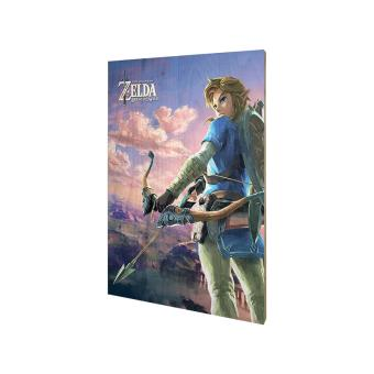 Poster en bois the legend of zelda breath of the wild for Achat maison zelda
