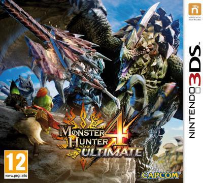 Monster Hunter 4 Ultimate 3DS - Nintendo 3DS