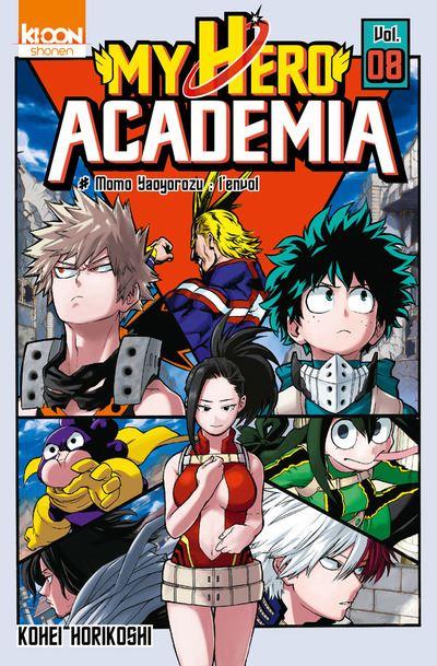 My hero academia n° 08
