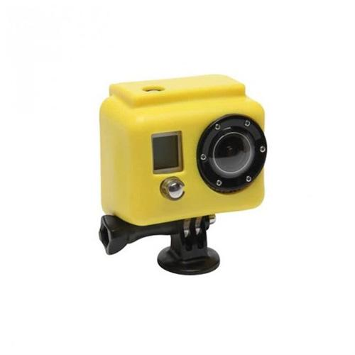 Etui silicone pour GoPro Hero 3+ XSories Cover jaune