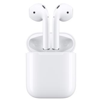 ecouteurs sans fil apple airpods blanc casque audio achat prix fnac. Black Bedroom Furniture Sets. Home Design Ideas