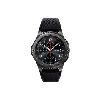 montre connect e samsung gear s3 frontier noir montre multifonctions achat prix fnac. Black Bedroom Furniture Sets. Home Design Ideas