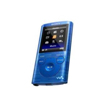 lecteur mp3 sony nwze383b 8 go bleu mp3 audio vid o achat prix fnac. Black Bedroom Furniture Sets. Home Design Ideas