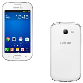 Smartphone samsung galaxy trend lite s7390 4 go blanc smartphone sous android os achat - Ecran samsung galaxy trend lite ...