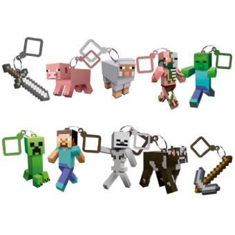 Porte cl s figurine minecraft autres figurines et for Porte and minecraft