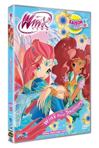 Winx Club Winx pour toujours Saison 6 Volume 4 DVD