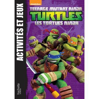 Les tortues ninja tome 2 activit s et jeux tortues - Jeux de tortue ninja gratuit ...