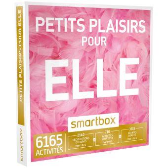 Coffret cadeau smartbox petits plaisirs pour elle for Idees cadeaux 25 ans