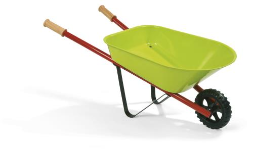 Véritable brouette en métal pour initier votre enfant aux joies du jardinage. Diamètre de la roue : 13 cm. Hauteur des poignées : 29 cm. Mini Pouss´ Natur´, c´est une gamme complète d´outils à découvrir, pour jardiner comme les grands. Contient : Une brou